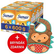Sunar Complex 4, 6 × 600 g + gift - Breast milk