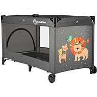 Petite & Mars Koot Lion Gray - Travel Bed