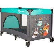 Petite & Mars Koot Fox Aqua - Travel Bed