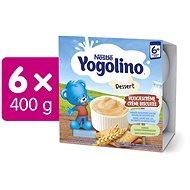 NESTLÉ Yogolino Sušenka 6× (4× 100 g) - Příkrm