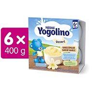 NESTLÉ Yogolino Vanilka  6× (4× 100 g) - Příkrm
