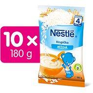 NESTLÉ Rýžová krupička 10× 180 g  - Nemléčná kaše
