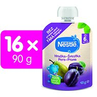 NESTLÉ pocket SVEŠTKA, Pear 16 × 90 g - Baby Food
