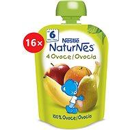 NESTLÉ pocket 4 FRUIT 16 × 90 g - Baby Food