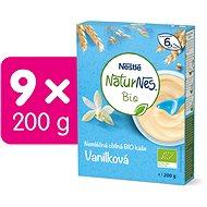 NESTLÉ Naturnes BIO Nemléčná kaše Vanilková 9× 200 g  - Nemléčná kaše