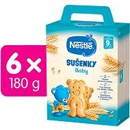 NESTLÉ Baby Sušenky 6× 180 g - Sušenky