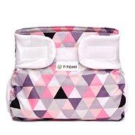 T-tomi Abdukční kalkotky, pink triangles (3-6 kg)  - Abdukční kalhotky