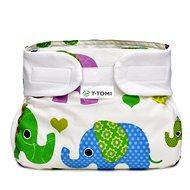 T-tomi Abdukční kalhotky, green elephants - Abdukční kalhotky