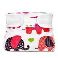 T-tomi Abdukční kalkotky, pink elephants (3-6 kg)  - Abdukční kalhotky