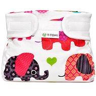 T-tomi Abdukční kalkotky, pink elephants (5-9 kg) - Abdukční kalhotky