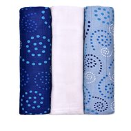 T-tomi BIO Bamboo Diapers (3 pieces) - Spirals - Cloth Diapers
