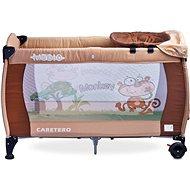 CARETERO Medio brown - beige - Cestovní postýlka
