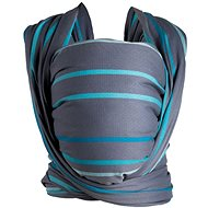 Womar Scarf Be Close Turquoise-Graphite - Baby carrier wrap