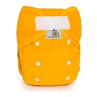 Bamboolik Noční kalhotková plena Duo Žlutá - Plenkové kalhotky