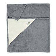 Bamboolik Bath towel Gray - Towels for babies