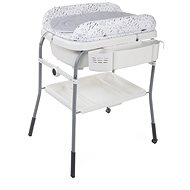 CHICCO Changing table with Cuddle & Bubble tray - Cool Gray - Changing mat