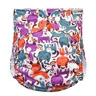 T-tomi AIO Přebalovací set patentky, Cats - Plenkové kalhotky