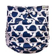 T-tomi AIO Přebalovací set patentky, Whales - Plenkové kalhotky