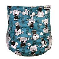 T-tomi AIO Přebalovací set patentky, Dogs - Plenkové kalhotky