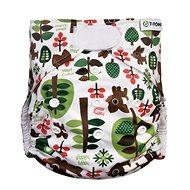 T-tomi AIO Přebalovací set suchý zip, Trees - Plenkové kalhotky