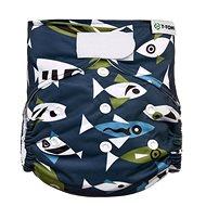 T-tomi AIO Přebalovací set suchý zip, Fish - Plenkové kalhotky