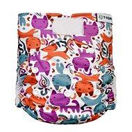 T-tomi AIO Přebalovací set suchý zip, Cats - Plenkové kalhotky