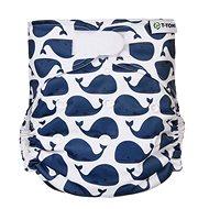 T-tomi AIO Přebalovací set suchý zip, Whales - Plenkové kalhotky