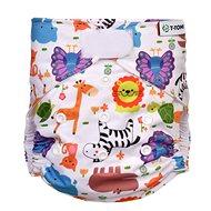 T-tomi AIO Přebalovací set suchý zip, Zoo - Plenkové kalhotky