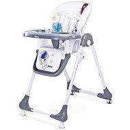 CARETERO Luna - grey - Jídelní židlička