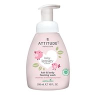 ATTITUDE Baby Leaves 2-in-1 without Fragrance 295ml - Children's Soap