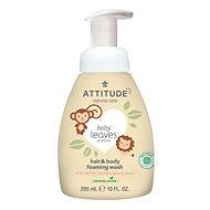ATTITUDE Baby Leaves 2v1 s vůní hruškové šťávy 295 ml - Dětské mýdlo
