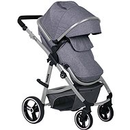 BOMIMI AMADEO 2v1 - steel gray - Baby Buggy
