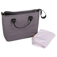 BOMIMI SEBA - grey melange - Přebalovací taška