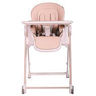 BOMIMI MEDA - ekokůže rose - Jídelní židlička