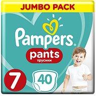 PAMPERS Pants vel. 7 (40 ks) - Jumbo Pack - Plenkové kalhotky
