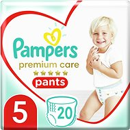 PAMPERS Premium Pants Carry Pack vel. 5 (20 ks) - Plenkové kalhotky