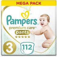 PAMPERS Premium Pants Mega Box vel. 3 (112 ks) - Plenkové kalhotky