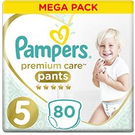 PAMPERS Premium Pants Mega Box vel. 5 (80 ks) - Plenkové kalhotky
