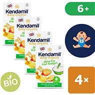 Kendamil Bio/organická bezlepková ovocná kaše 4× 150 g - Nemléčná kaše