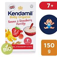 Kendamil BIO/Organická banánovo-jahodová kaše 150 g - Nemléčná kaše