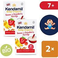 Kendamil Bio/organická kaše banán & jahoda 2× 150 g - Nemléčná kaše