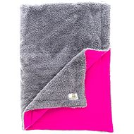 Bamboolik Comforter size S, Grey + Cyclamen