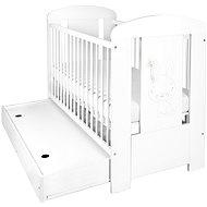 New Baby Králíček se šuplíkem - bílá - Dětská postýlka