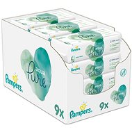 PAMPERS Aqua Pure Wet Wipes 9×48pcs - Baby Wet Wipes