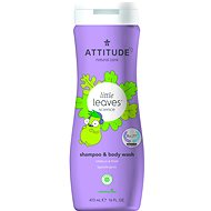 ATTITUDE Little Leaves 2-in-1 with Vanilla and Pear Fragrance 473ml - Children's Soap
