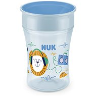 NUK Magic Cup with cap 230 ml - blue - Baby cup