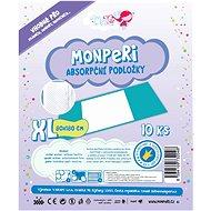 MonPeri Podložky vel. XL (10 ks) - Přebalovací podložka
