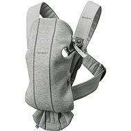 Babybjörn Mini Light Grey 3D Jersey - Nosítko