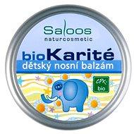 SALOOS Bio karité dětský nosní balzám 19 ml - Balzám