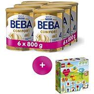 BEBA COMFORT 4 HM-O (6× 800 g) + LEGO Duplo Moje první kostky - Kojenecké mléko